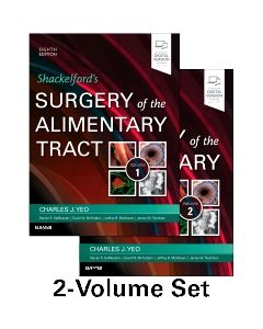 Shackelford's Surgery of the Alimentary Tract  2 Volume Set