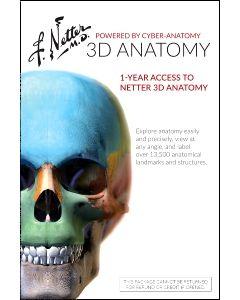 Netter 3D Anatomy (Retail Access Card)